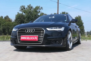 Audi A6 FL 2.0TDI 190KM -Automat -FILM VIDEO -Zoba